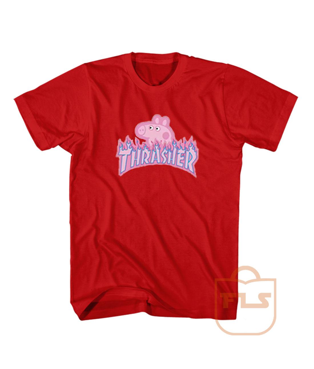 a9cc403437dc Peppa Pig Thrasher T Shirt - Ferolos.com