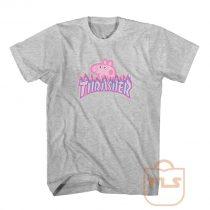 Peppa Pig Thrasher Skateboard T Shirt