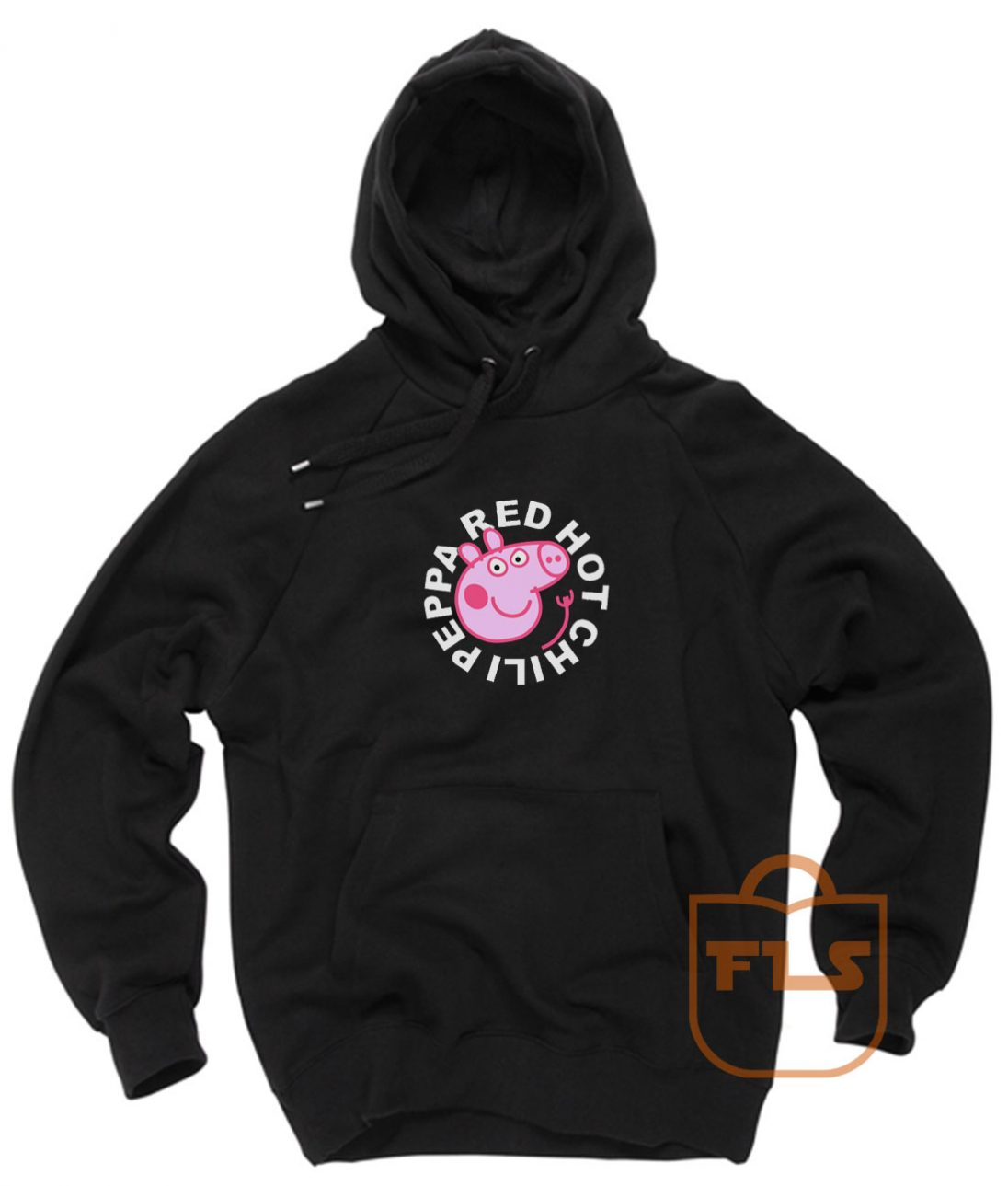 Red Hot Chili Peppa Pig RHCP Parody Hoodies Pullover, Red Hot Chili Peppa Pig, RHCP Peppa Pig, Red Hot Chili Pepper