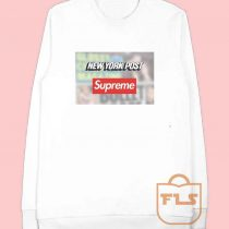 Supreme Feat New York Post Sweatshirt