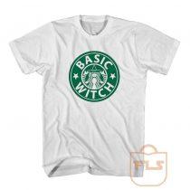 Basic Witch Starbucks Parody T Shirt