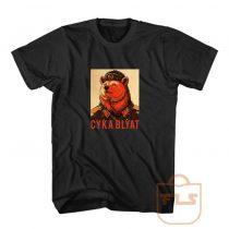 Cyka Blyat Bear Russian Soviet Custom T Shirts