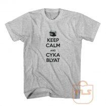 Keep-Calm and Cyka Blyat Shirts