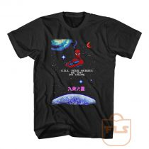 Kill Your Heroes Be Gay Do Crime Spiderman T Shirt