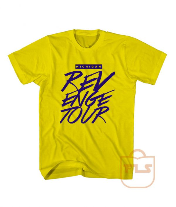 Michigan Revenge Tour T Shirt