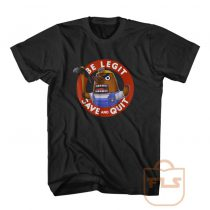 Nintendo Animal Crossing Resetti Save and Quit T Shirt