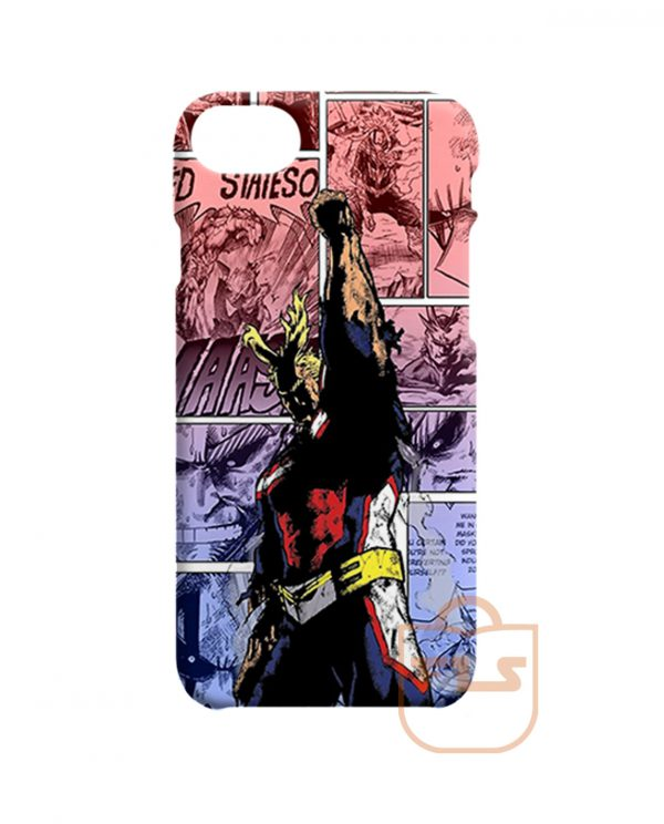 All Might One For All iPhone Cases