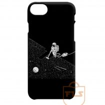 Astronaut Vacuuming The Stars iPhone Cases