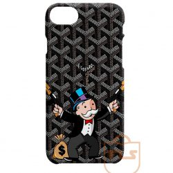 Black Goyard Funny Guns Man iPhone Cases
