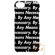 By Any Means Necessary iPhone Cases