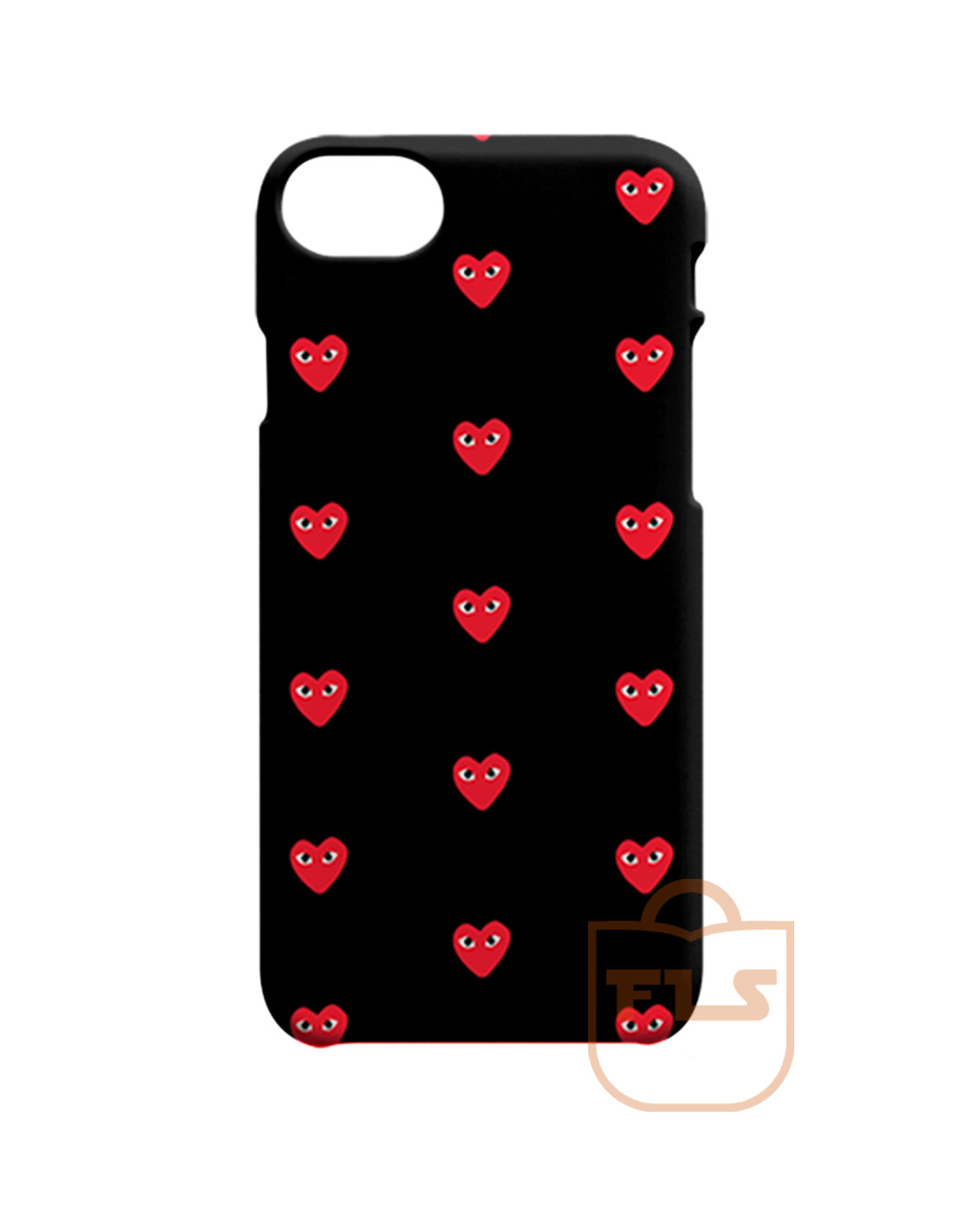 more photos 46c86 6d61d Comme Des Garcons Play Love iPhone Cases
