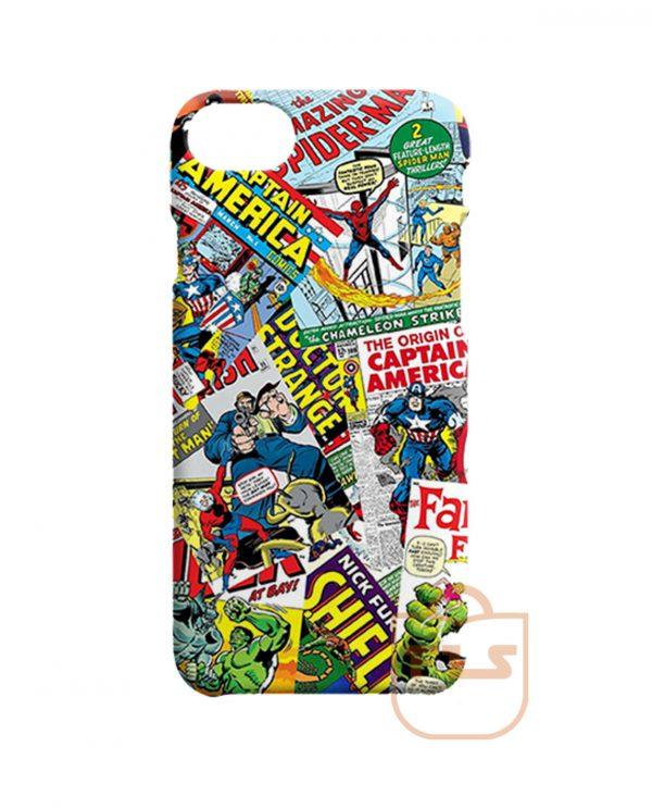 Funny Comics Mix Pattern iPhone X Case, iPhone XR, iPhone XS Max, iPhone XS
