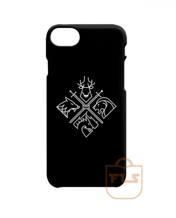 Game of Thrones Houses iPhone X Case, iPhone XR, iPhone XS Max, iPhone XS