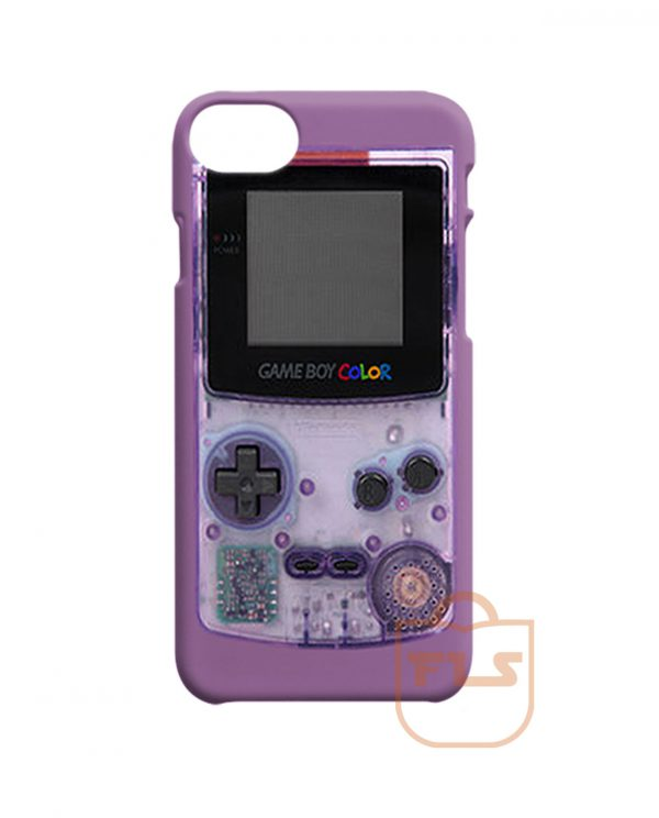 Gameboy Purple iPhone X Case
