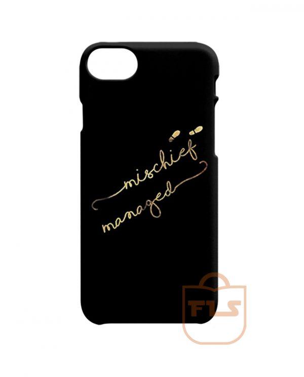 Mischief Managed Signature iPhone X Case