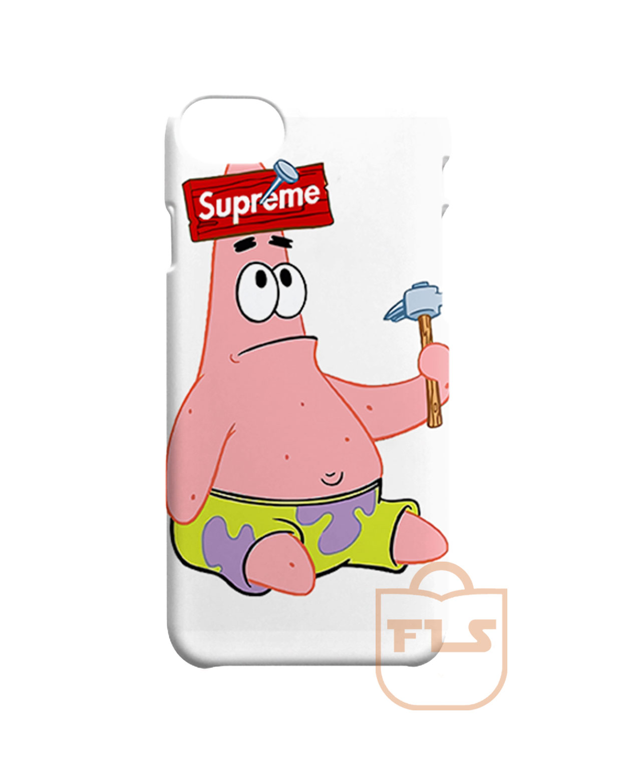 separation shoes 094ad 6b5ae Patrick the Star Supreme iPhone X Case, iPhone XR, iPhone XS Max, iPhone XS
