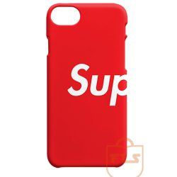 SUP Supreme Red iPhone Cases