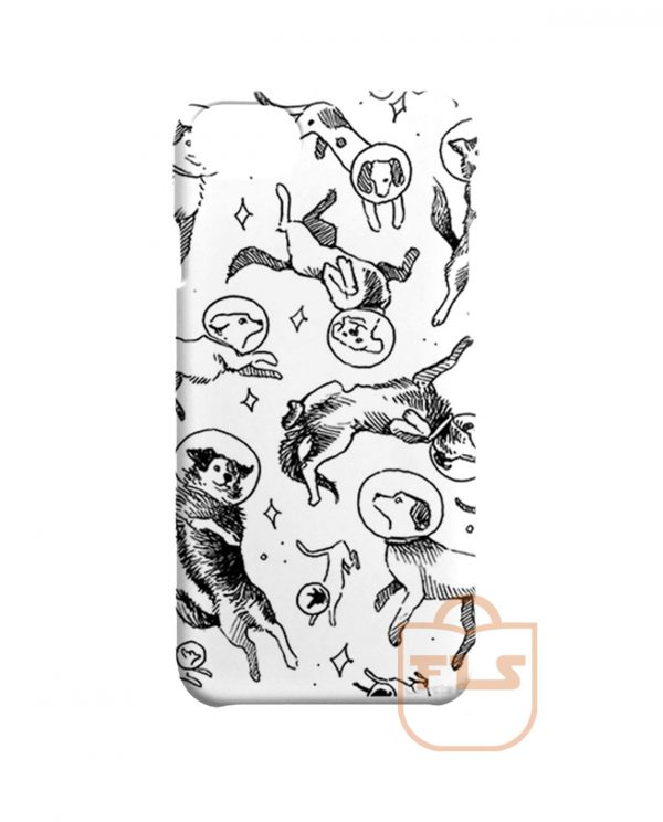 Space Dogs iPhone Cases
