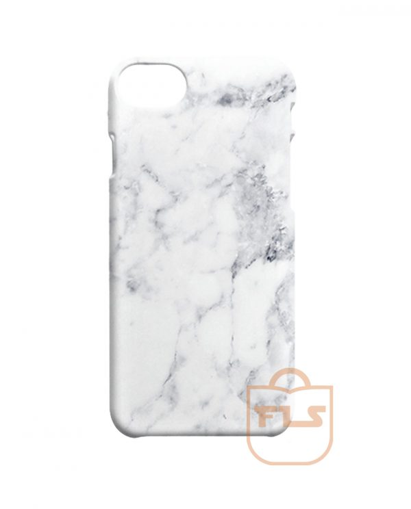 White Marble Pattern iPhone Cases