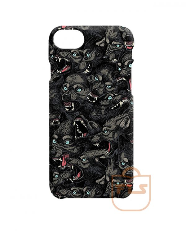 Wolf Pattern iPhone Cases