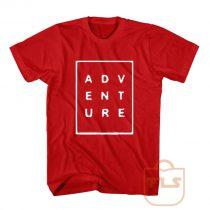 Adventure Font Box T Shirt