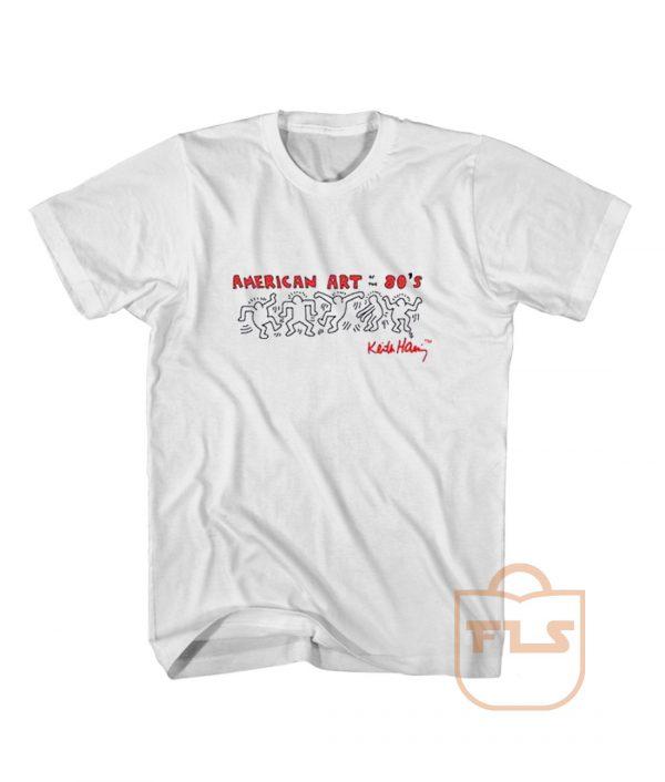 American Art Dance on The 80s T Shirt