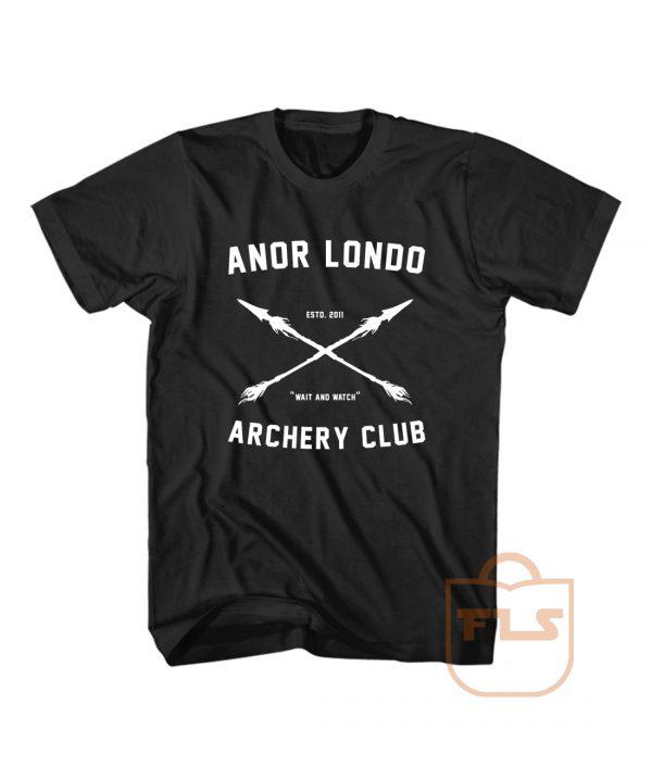 Anor Londo Archery Club T Shirt