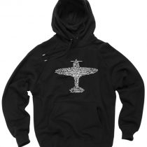 Aviation Alphabet Airplane Pullover Hoodie