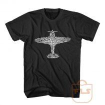 Aviation Alphabet Airplane T Shirt