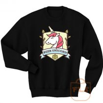 Beer Unicorn Cute Sweatshirt Men Women