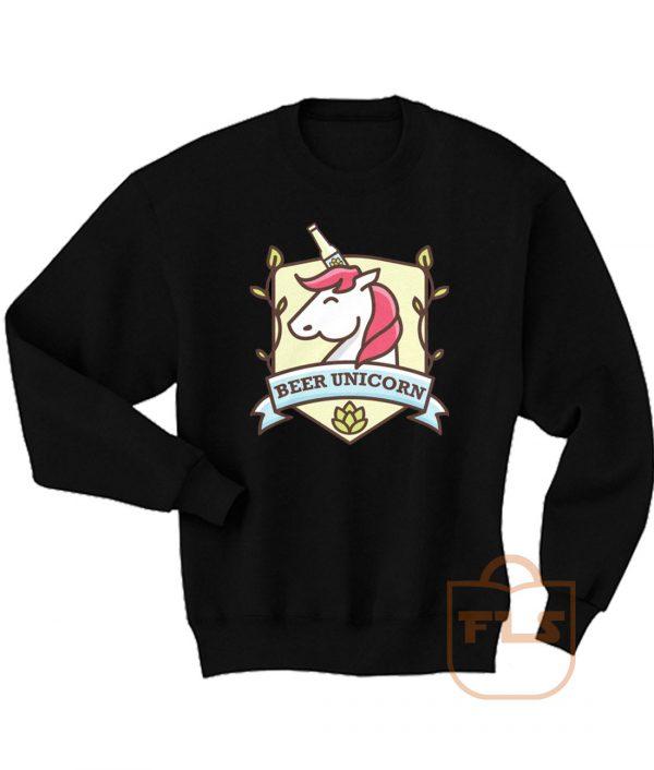 Beer Unicorn Cute Sweatshirt Men Women