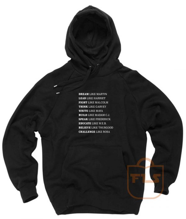 Black Lives Matter History Pullover Hoodie