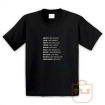 Black Lives Matter History Youth T Shirt