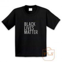 Black Lives Matter Youth T Shirt
