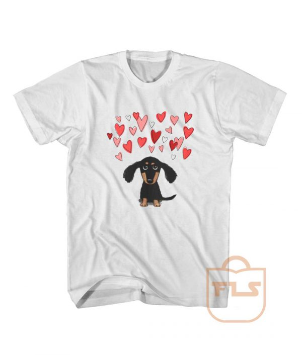 Cute Dachshund Puppy Love T Shirt