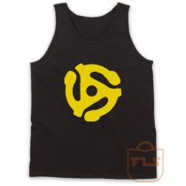 DJ 45 RPM ADAPTER Spider Record Tank Top
