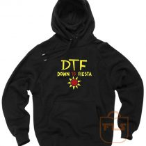 DTF Down to Fiesta Pullover Hoodie