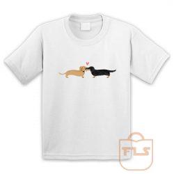 Dachshunds Dog Love Youth T Shirt