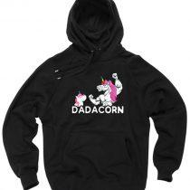 Dadacorn Unicorn Dad Gift Pullover Hoodie