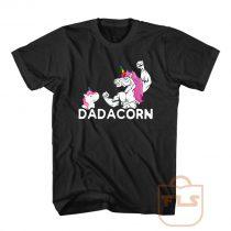 Dadacorn Unicorn Dad Gift T Shirt