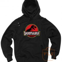 Daddysaurus Fathers Day Gift Hoodie