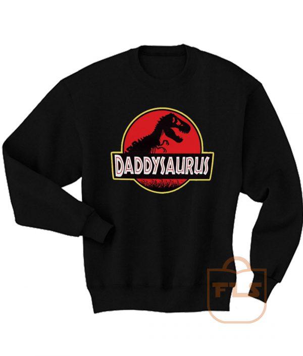 Daddysaurus Fathers Day Gift Sweatshirt Men Women