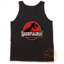 Daddysaurus Fathers Day Gift Tank Top