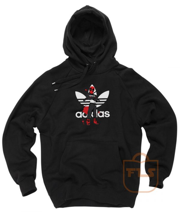 Deadpool Comedy Adidas Style Hoodie