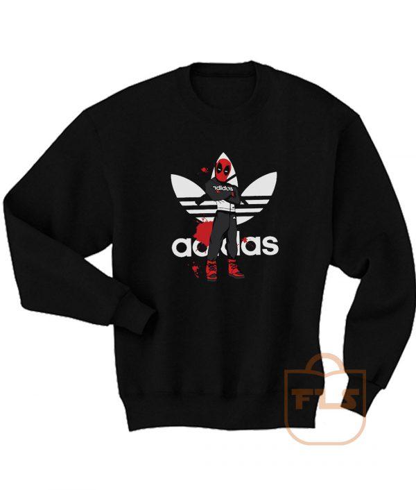 Deadpool Comedy Adidas Style Sweatshirt Men Women