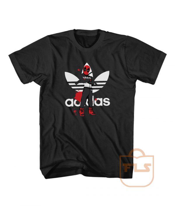 Deadpool Comedy Adidas Style T Shirt Men Women