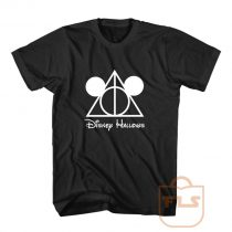 Disney Hallows Mickey Mouse Harry Potter T Shirt