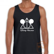 Disney Hallows Mickey Mouse Harry Potter Tank Top