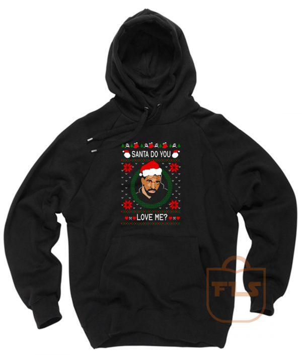 Drake Santa Do You Love Me Ugly Christmas Hoodie