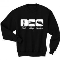 Eat Sleep Goshen Sweatshirt